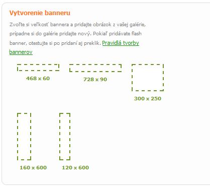 vyber banneru RTB
